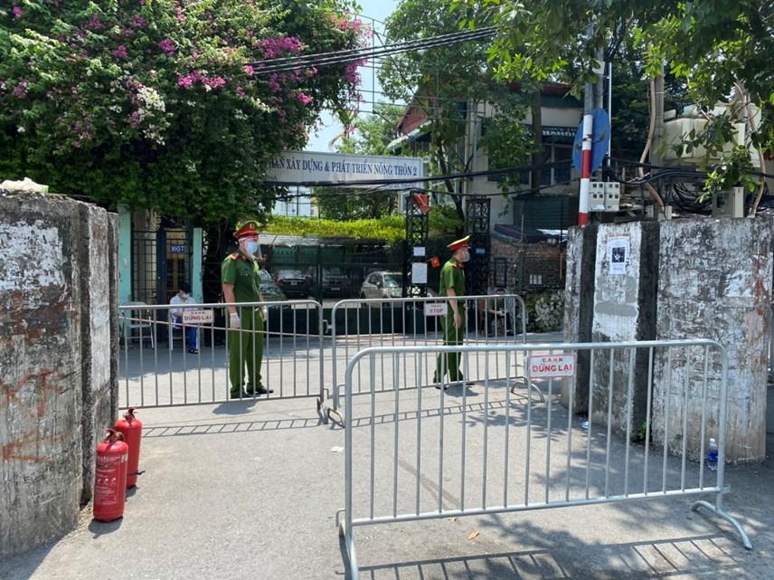 Cận cảnh vùng cách ly y tế phường Chương Dương, quận Hoàn Kiếm, Hà Nội - Ảnh 2