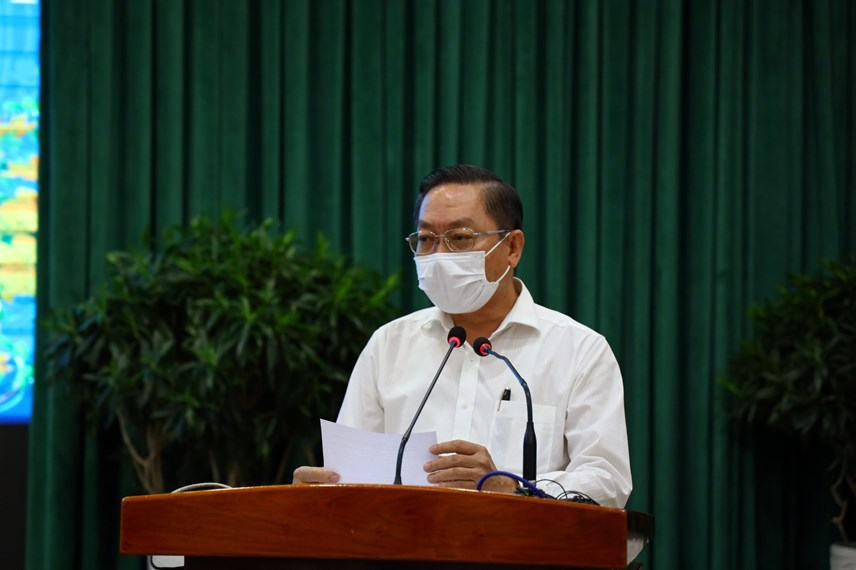 Giám đốc Sở Y tế TP HCM Nguyễn Tấn Bỉnh khẳng định đến thời điểm hiện nay TP HCM đã cơ bản kiểm soát được dịch Covid-19.