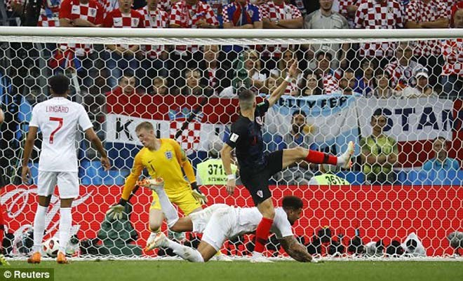 Ở World Cup 2018, Đội tuyển Anh đã không thể kéoCroatia đến loạt sút luân lưu.