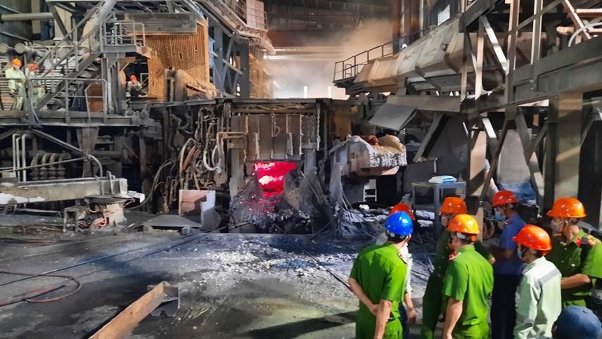 Nhà máy luyện phôi thép Pomina: Xảy ra sự cố môi trường, 1 công nhân tử vong - Ảnh 3