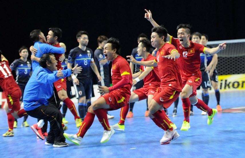 Futsal Việt Nam là đội bóng biết cách tạo nên địa chấn.