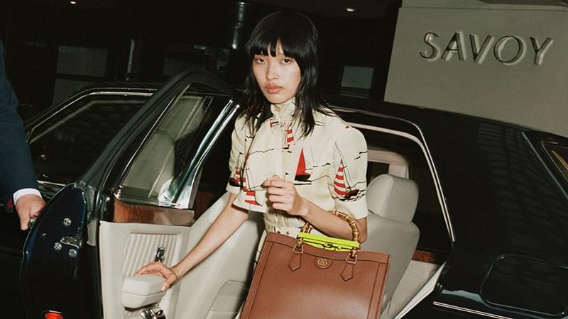 Phương Oanh Next Top là mẫu Việt đầu tiên lên website Gucci toàn cầu.