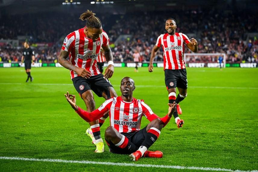 Yoane Wissa ấn định kết quả 3-3 khiến Liverpool không có được niềm vui chiến thắng.